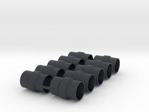 BURNS MUFFLER X 5 in Black Professional Plastic