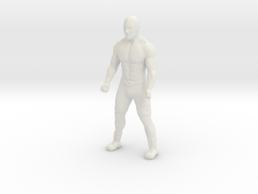 Printle C Homme 1721 - 1/18 - wob in White Natural Versatile Plastic