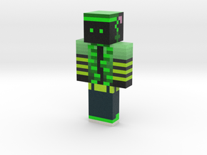 GreenTwist4 | Minecraft toy in Natural Full Color Sandstone
