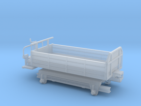 kk 405 wengernalpbahn wengern alp bahn guterwagon in Smooth Fine Detail Plastic