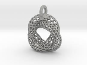 Knot Pendant in Aluminum