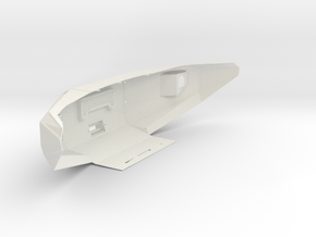 1:14 Ford F-150 Raptor front bumper in White Natural Versatile Plastic