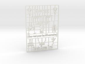 3d_i in White Natural Versatile Plastic