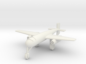 (1:144) Junkers Ju 268 (Manned Version) in White Natural Versatile Plastic