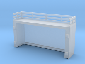 On30 2-4-4-2/2-6-6-2 Side Tank Engine Fuel Bunker in Smooth Fine Detail Plastic