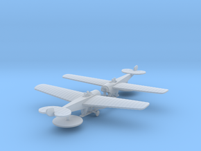 Nieuport 6M in Smooth Fine Detail Plastic: 1:285 - 6mm