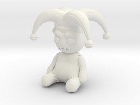 Voodoo Doll ISC in White Natural Versatile Plastic: Small