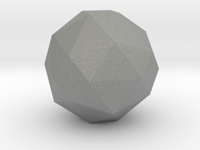 geommatrix 72mm f54 polyhedron in Gray PA12