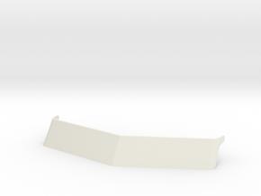 1/14 Peterbilt 379 Visor  in White Natural Versatile Plastic