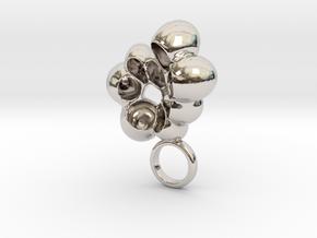 Cruzo - Bjou Designs in Rhodium Plated Brass