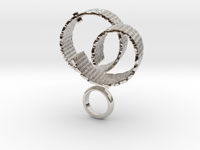 Vispo - Bjou Designs in Rhodium Plated Brass