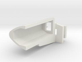 1/14 Peterbilt 379 Light Housing Right in White Natural Versatile Plastic