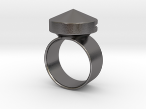 Car Escape Ring [v1] by ishap9.dsn in Polished Nickel Steel