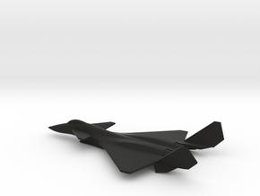 Shenyang J-14 (w/o landing gears) in Black Natural Versatile Plastic: 6mm