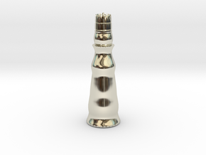 Queen White - Bullet Series in 14k White Gold