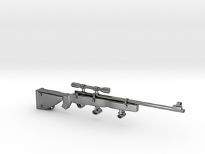 SniperRifle82Astralian in Fine Detail Polished Silver