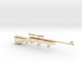 SniperRifle82Astralian in 14K Yellow Gold