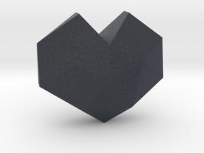 geommatrix f134 heart d 1  in Black PA12