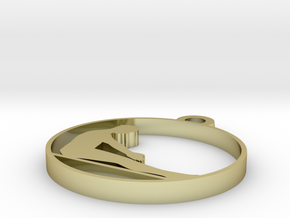 m in 18k Gold Plated Brass