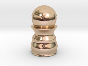 Pawn Black - Bullet Series in 14k Rose Gold