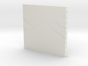 N ARTILLERY MORTAR PLATFORM in White Natural Versatile Plastic