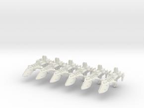 Destructor clase Cobra  in White Natural Versatile Plastic