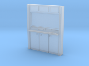 HO Wall Unit in Smooth Fine Detail Plastic