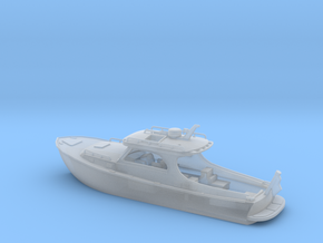 Yatch Ver01. 1:150 Scale in Smooth Fine Detail Plastic