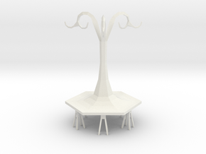 inside bench-hanger in White Natural Versatile Plastic