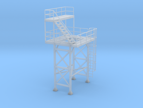 1/64th Cement Concrete Batch Plant Tower in Smooth Fine Detail Plastic
