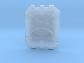 Land_Raider_Door_Angry_Marine_04 in Smooth Fine Detail Plastic
