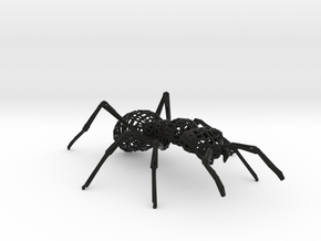 Mesh Ant in Black Natural Versatile Plastic