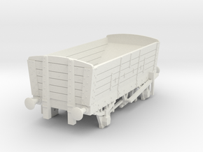 a-76-ner-p4-5pl-coal-hopper-wagon in White Natural Versatile Plastic