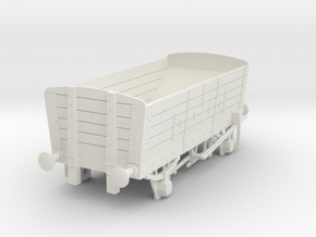 a-43-ner-p4-5pl-coal-hopper-wagon in White Natural Versatile Plastic