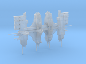UNSC Hopeful refit station in Smooth Fine Detail Plastic