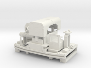 A-1-43-20hp-simplex-1a in White Natural Versatile Plastic
