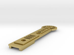 emitter add-on A in Natural Brass