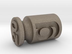Test weight 20 g in Matte Bronzed-Silver Steel