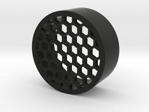 42mm Honeycomb in Black Natural Versatile Plastic
