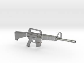 M16A1 v1 in Natural Silver