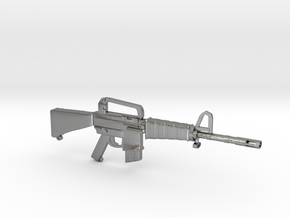 M16A1 v2 in Natural Silver