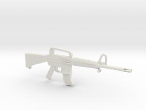 M16A2 in White Natural Versatile Plastic