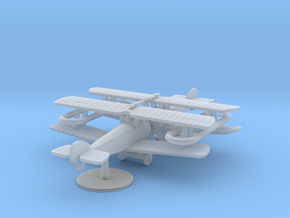 """Sopwith 2F1 """"Ship's Camel"""" in Smooth Fine Detail Plastic: 1:285"""