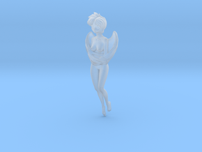 1/24 G Scale Hovering Angel  in Smooth Fine Detail Plastic