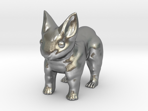Leopabbit Minuscule Solid in Natural Silver
