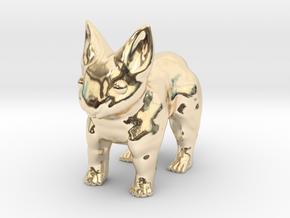Leopabbit Minuscule Solid in 14k Gold Plated Brass