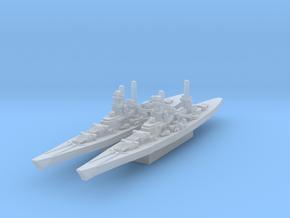 Scharnhorst and Gneisenau (Axis & Allies) in Smooth Fine Detail Plastic