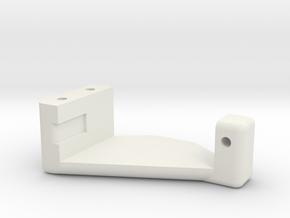 AMZglservoholderV2 in White Natural Versatile Plastic