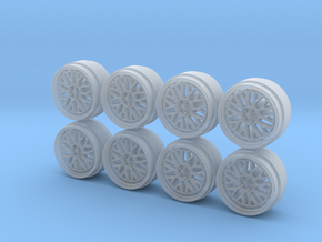 BBS LM 9 Hot Wheels Rims in Smoothest Fine Detail Plastic