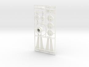 Kleinteile Torpedo G7e 1:8,5 in White Processed Versatile Plastic